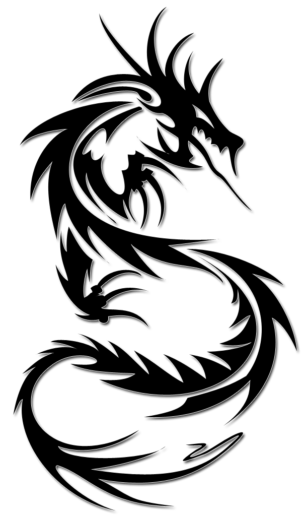 Tattoo Dragon Png Image PNG Image