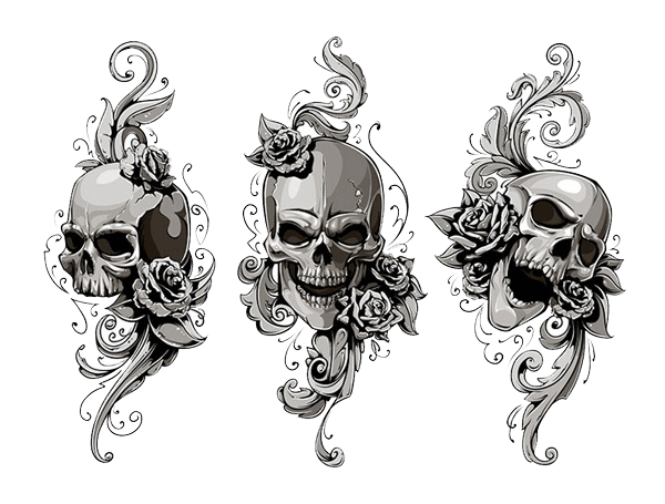 Tattoos School Old Skull (Tattoo) Human Symbolism PNG Image