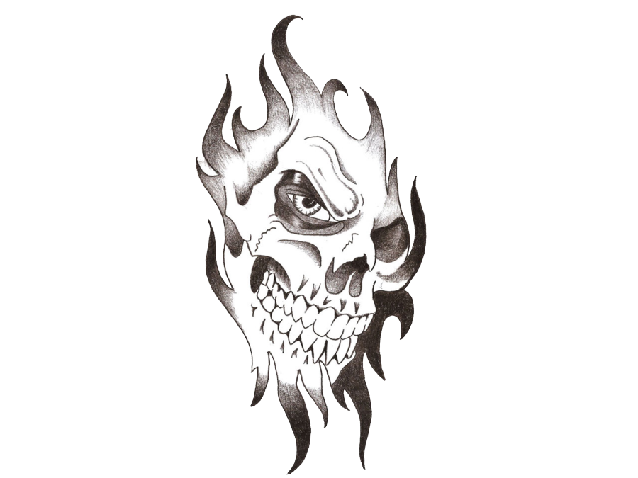 Tattoo Skull Download HQ PNG PNG Image