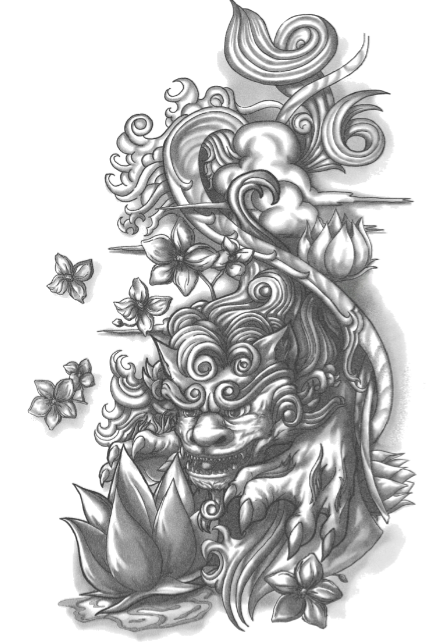 Irezumi Tattoo Design Sleeve Removal Free HD Image PNG Image