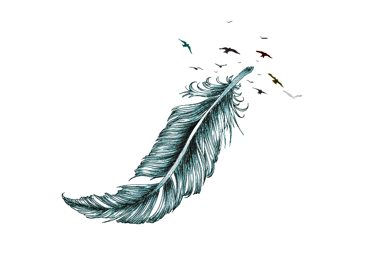 Irezumi Tattoo Feather Sleeve Artist Free Transparent Image HD PNG Image