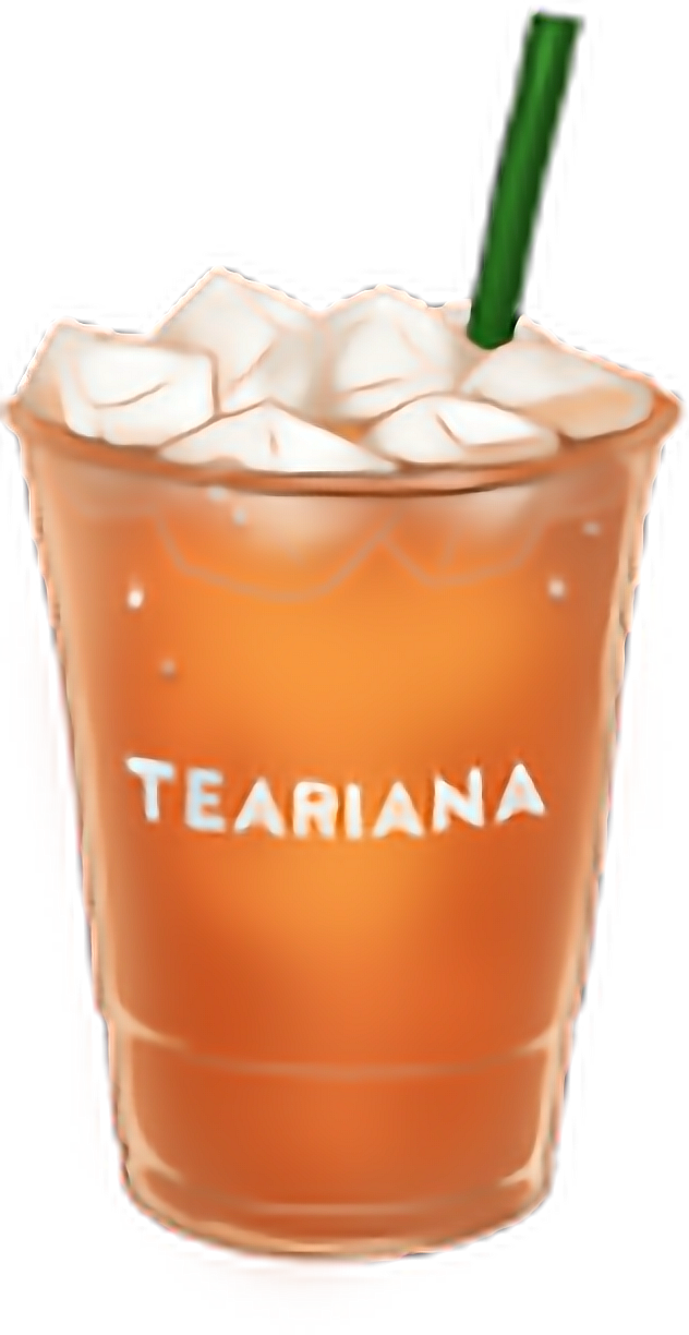 Tea Drink Fizzy Orange Non-Alcoholic Drinks PNG Image
