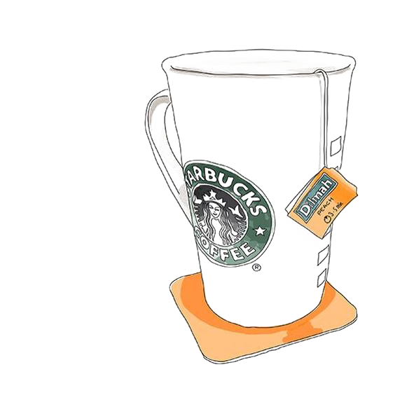 Tea Coffee Cup Starbucks Bag Free PNG HQ PNG Image