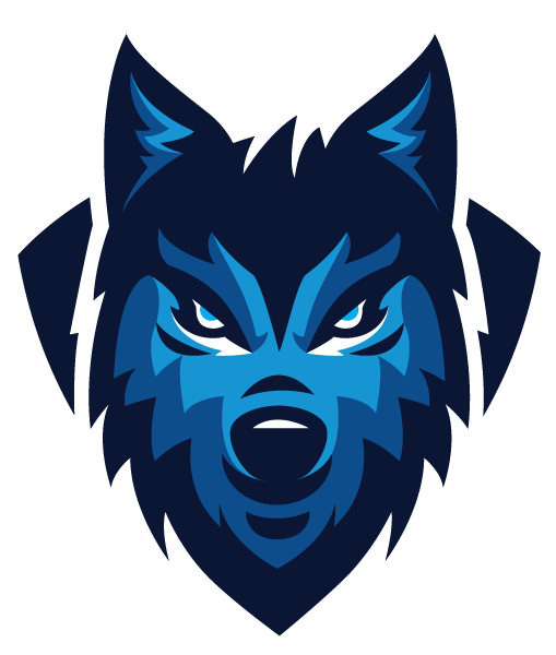 Gray Head Sports Wolf Team Logo Sport PNG Image
