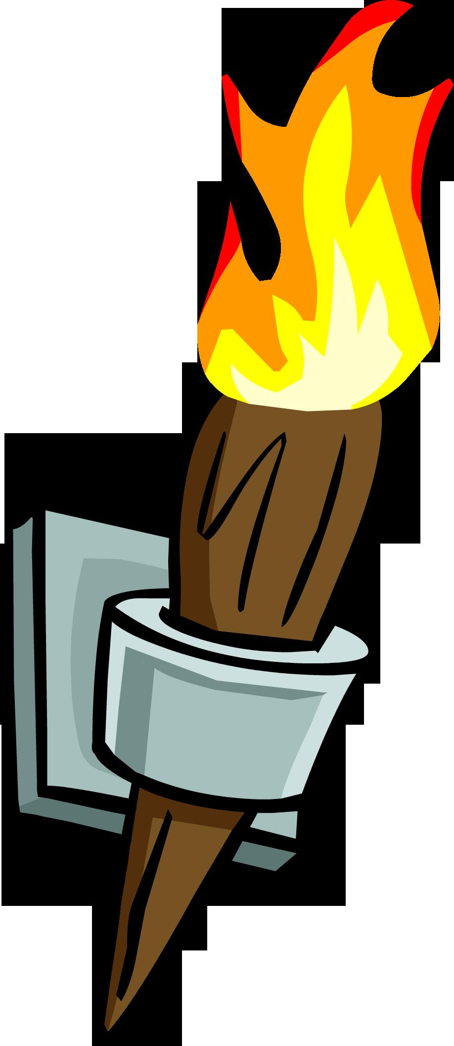 Открытка, картинки с факелом