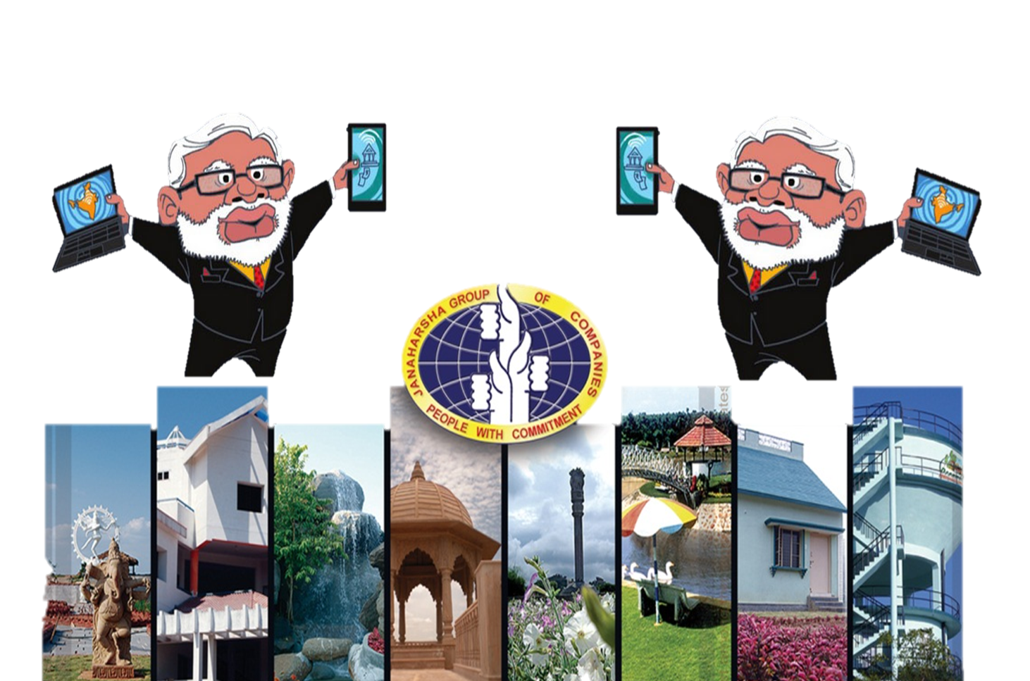 Modi Brand Technology Cartoon Narendra PNG Image High Quality PNG Image
