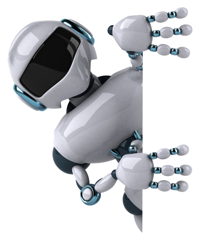 Three-Dimensional Space Robotics Robot Computer Graphics Border PNG Image