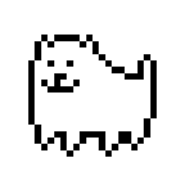Flowey Square Angle Dog Undertale Free Photo PNG PNG Image