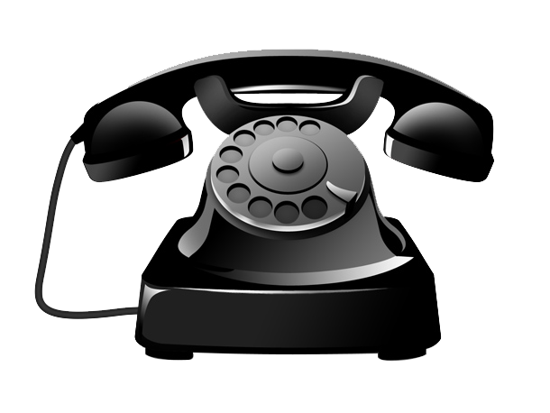 Antique Black Telephone Icon Free Download PNG HD PNG Image