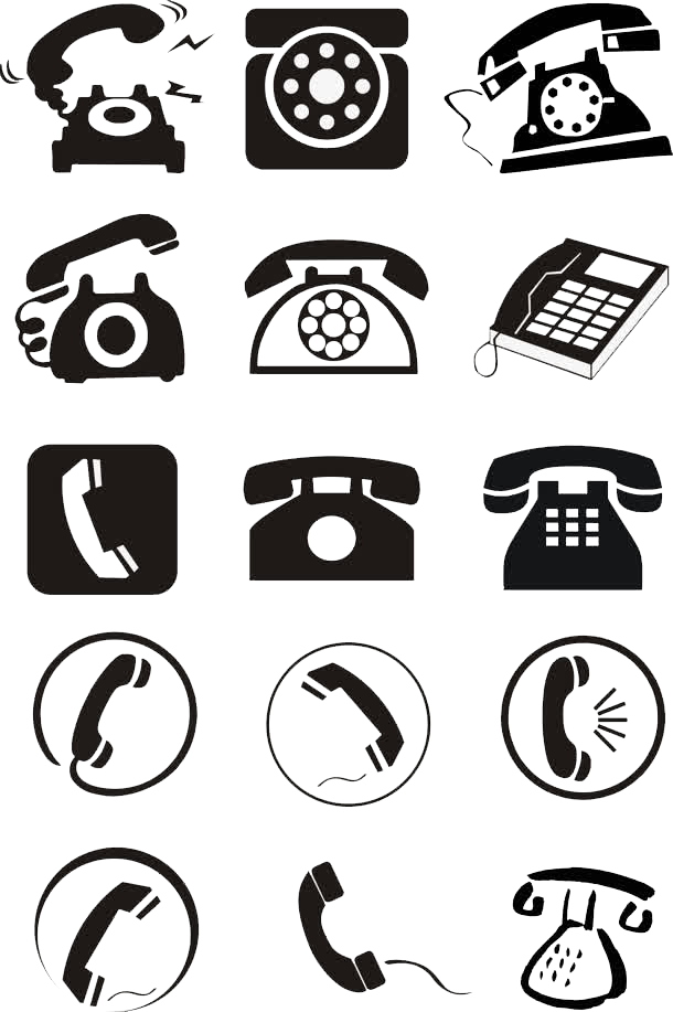 Phone Design Telephone Icon Free Download PNG HD PNG Image