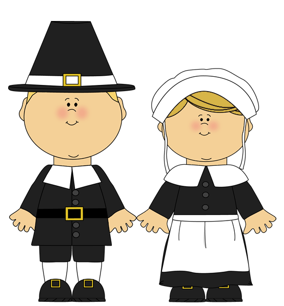 And Male Pilgrims Female Pilgrim Free Clipart HQ PNG Image