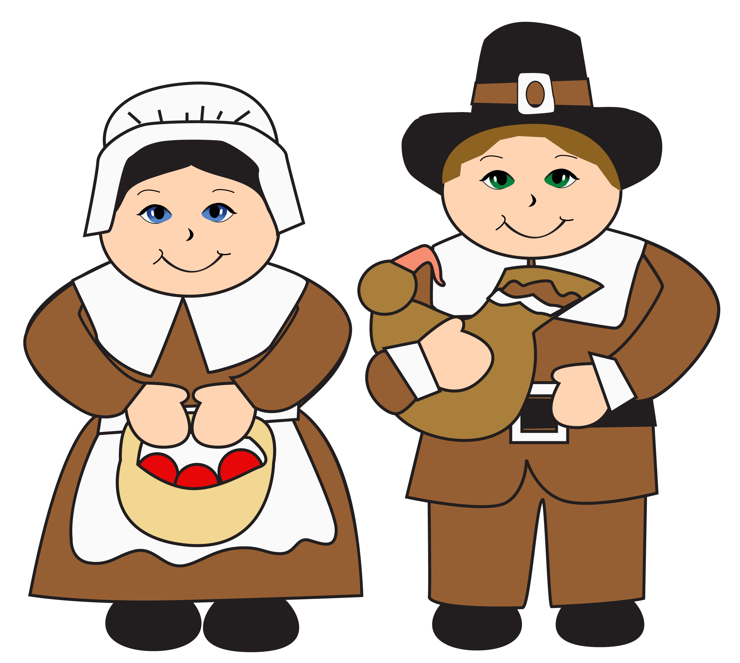 Pilgrims Thanksgiving Free Download PNG HD PNG Image