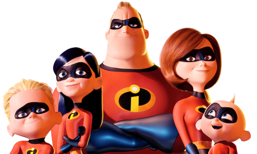 The Incredibles Transparent PNG Image