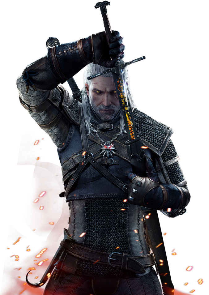 The Witcher Hd PNG Image