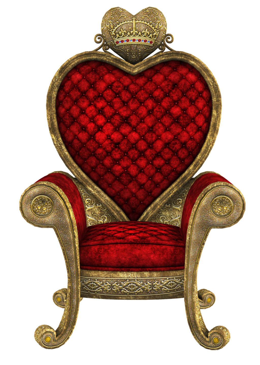 Throne Transparent Picture PNG Image