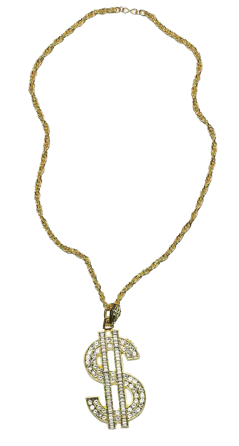 Thug Life Gold Chain File PNG Image