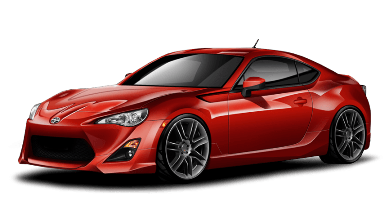Red Toyota Gt86 Png Image Car Image PNG Image