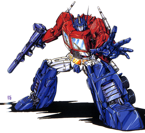 Optimus Prime Clipart PNG Image