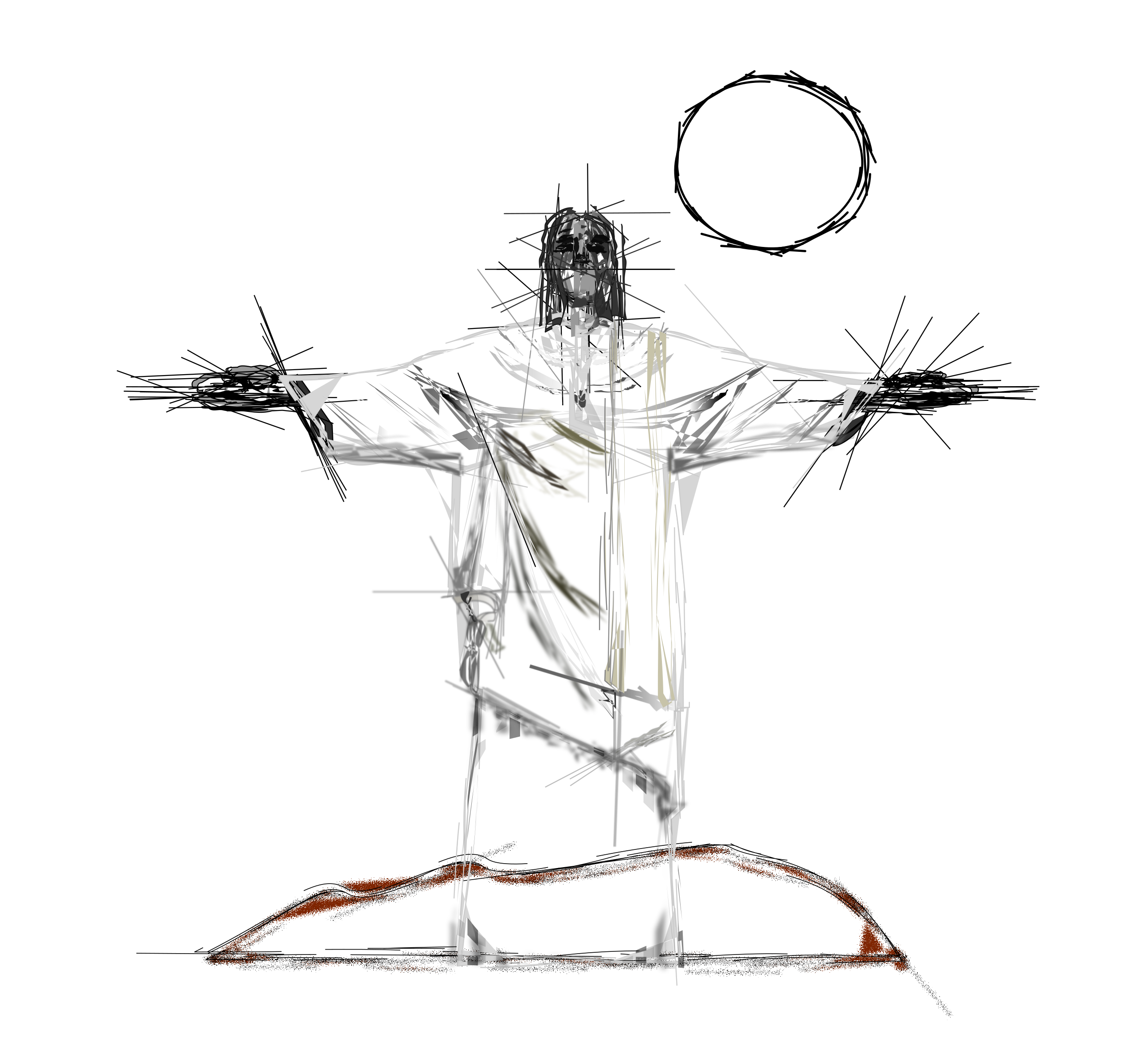 Redeemer The Jesus Christ Drawing HD Image Free PNG PNG Image