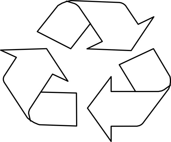 Templates Word Reuse For Symbol Recycling Paper PNG Image