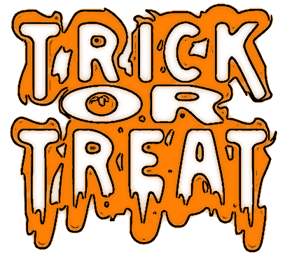 Trick Or Treat Transparent Image PNG Image