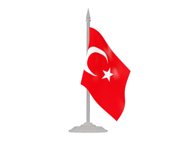 Turkey Flag Transparent PNG Image