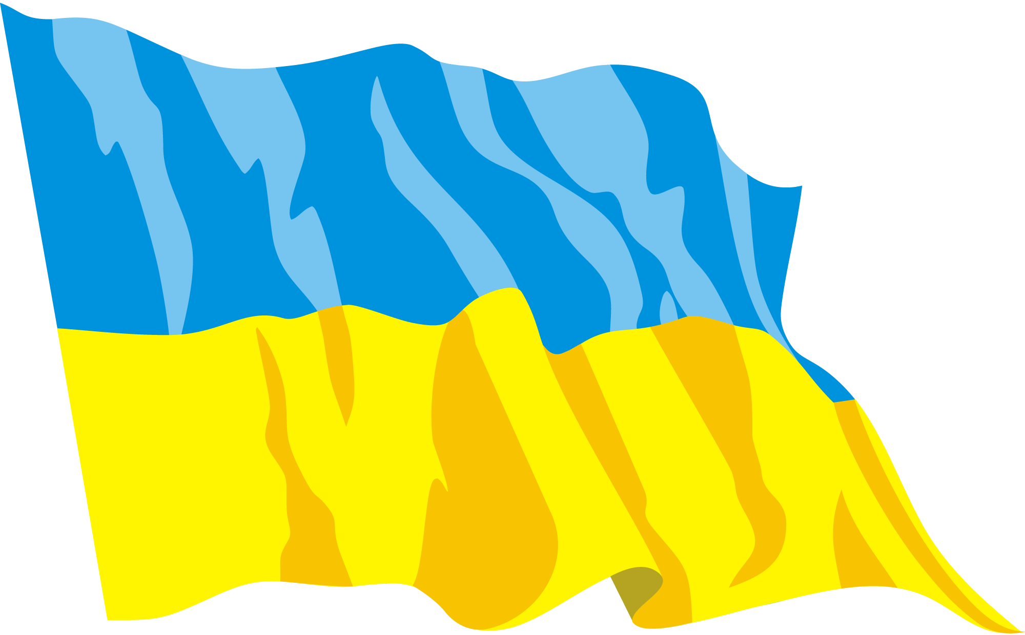 Ukraine Flag Png Pic PNG Image