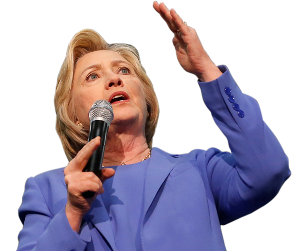 Microphone United Clinton Speaking Us States Hillary PNG Image