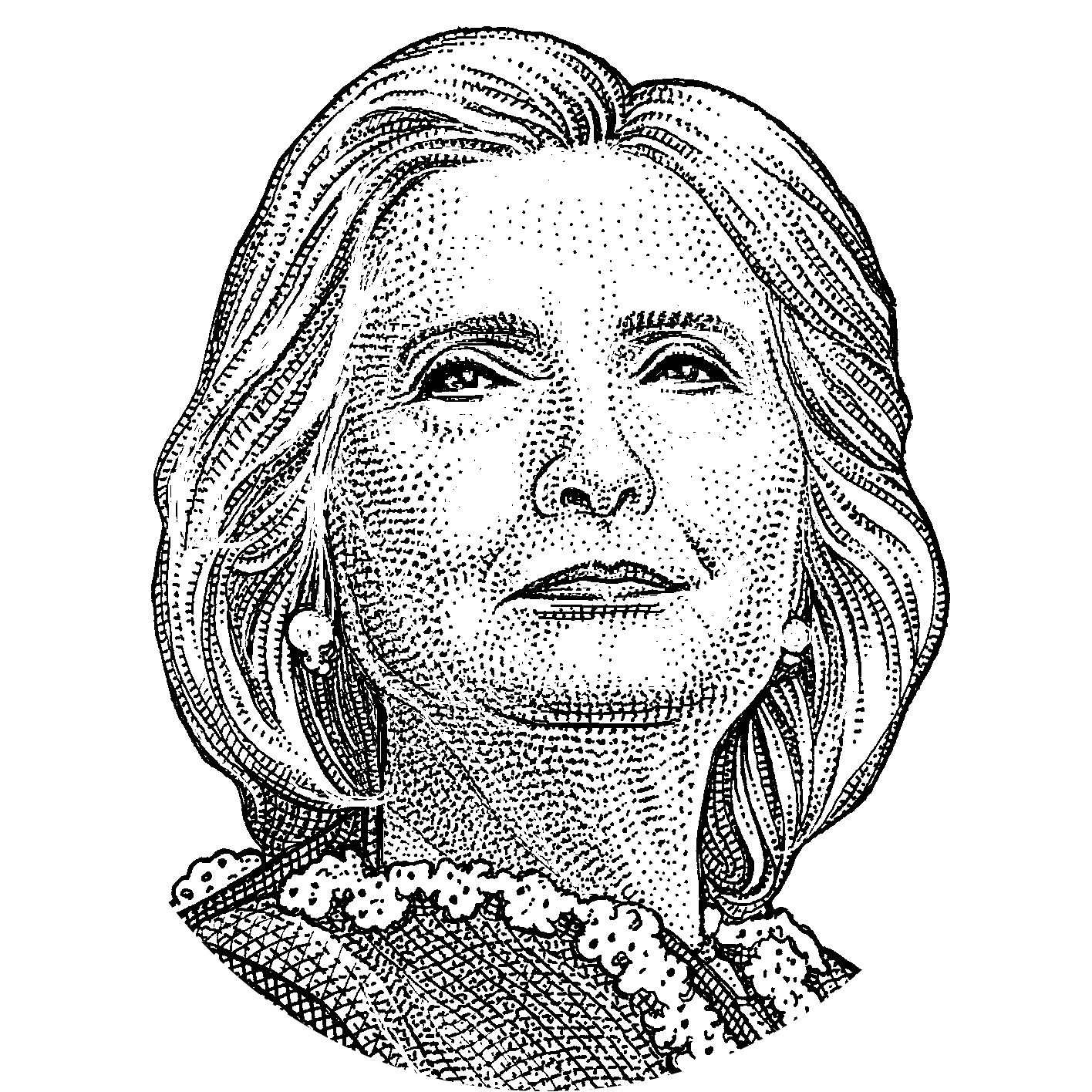United Art Photography States Hillary Monochrome Clinton PNG Image