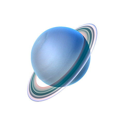 Uranus System Planet Solar Planets Icon PNG Image