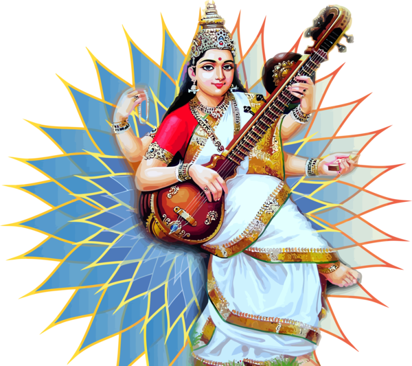 Vasant Panchami Musical Instrument Indian Instruments String For Happy Party 2020 PNG Image