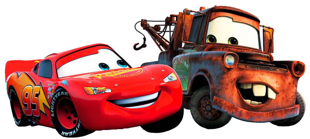 Cars Company Mcqueen Lightning Walt Mater World PNG Image