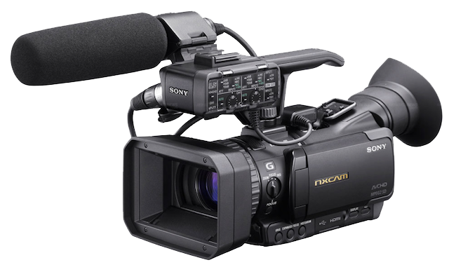Professional Video Camera Transparent Background PNG Image
