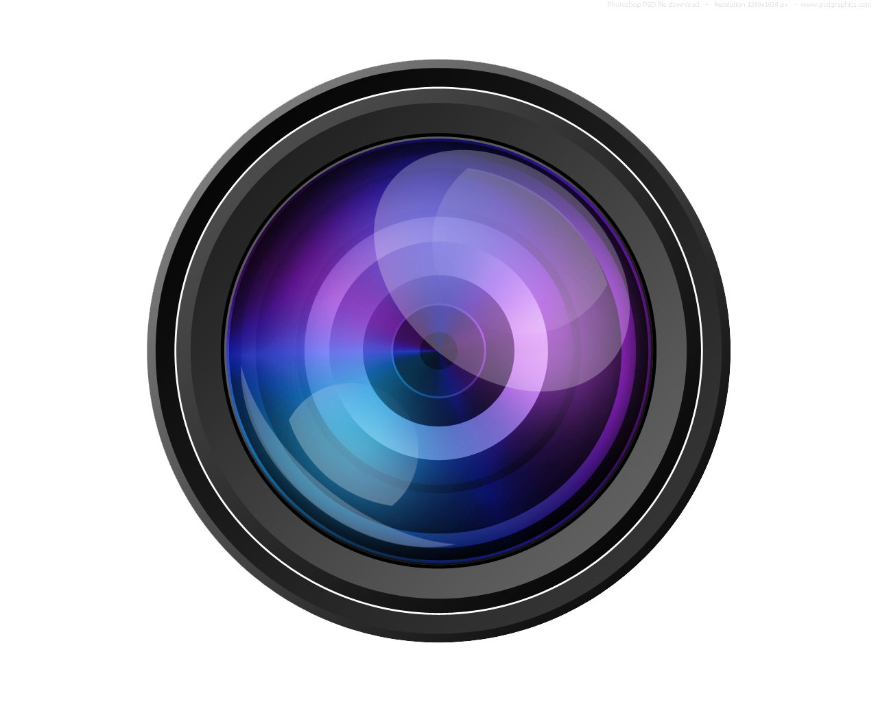 Video Camera Lens Transparent Image PNG Image