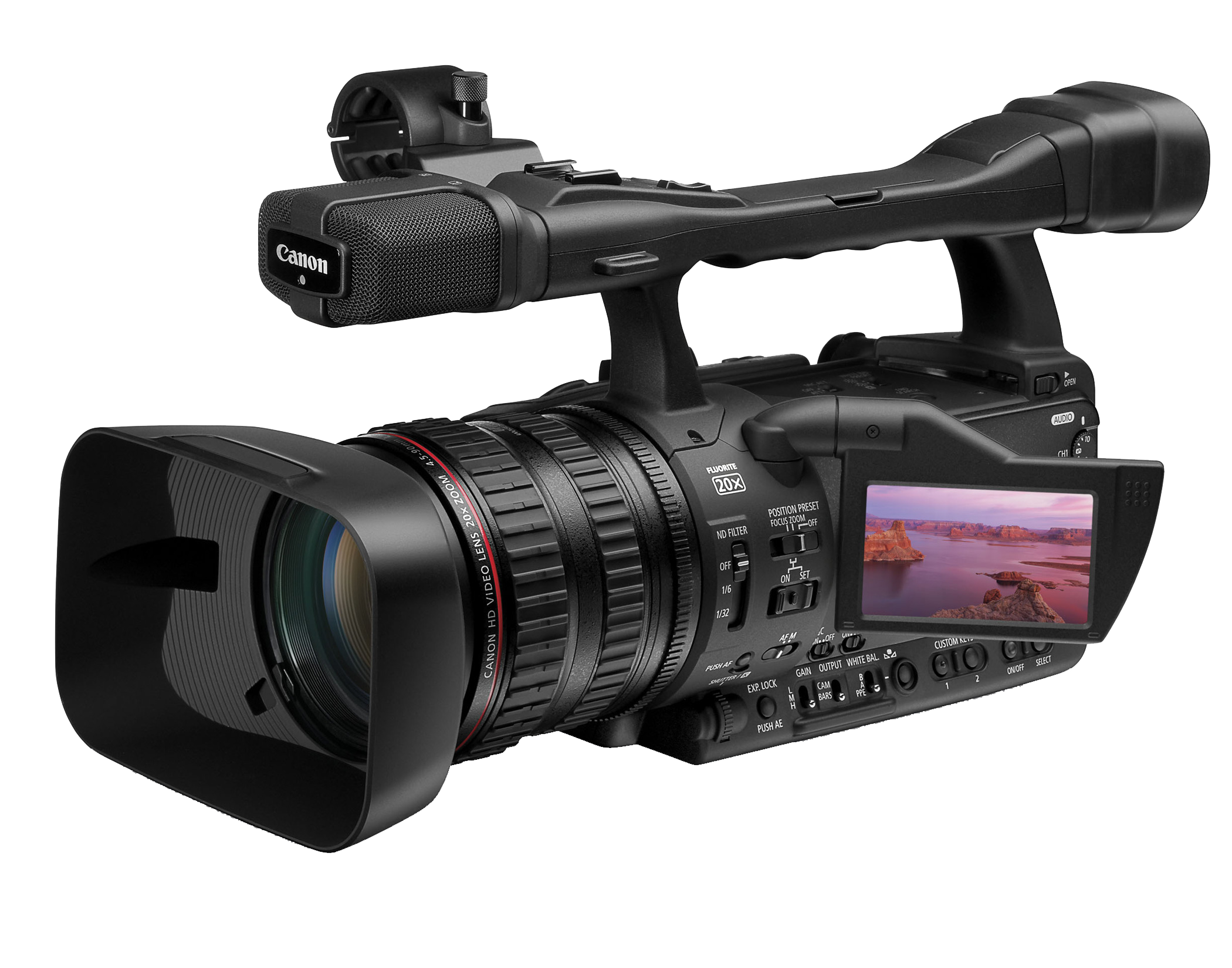 Professional Video Camera Image PNG Image
