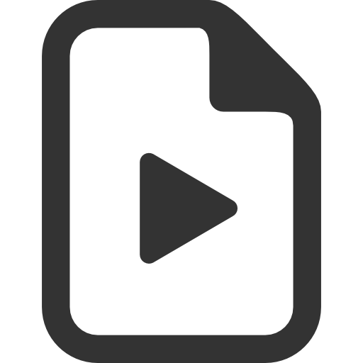 Video Icon Transparent Image PNG Image
