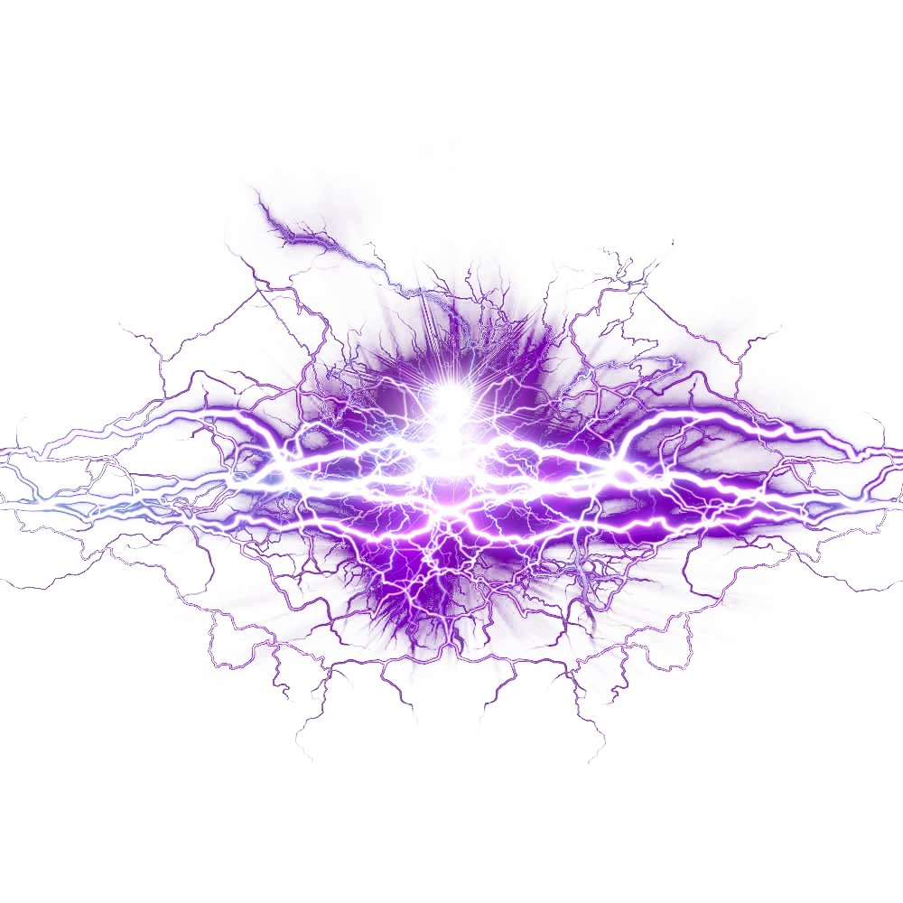 Purple Graphic Design Wallpaper Lightning Free Clipart HQ PNG Image