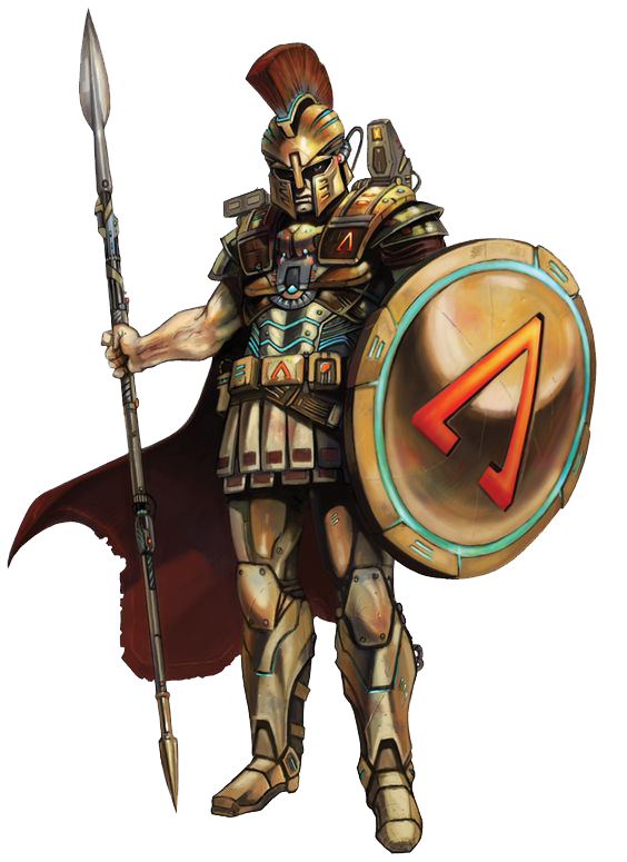 Sci Fi Warrior Transparent PNG Image