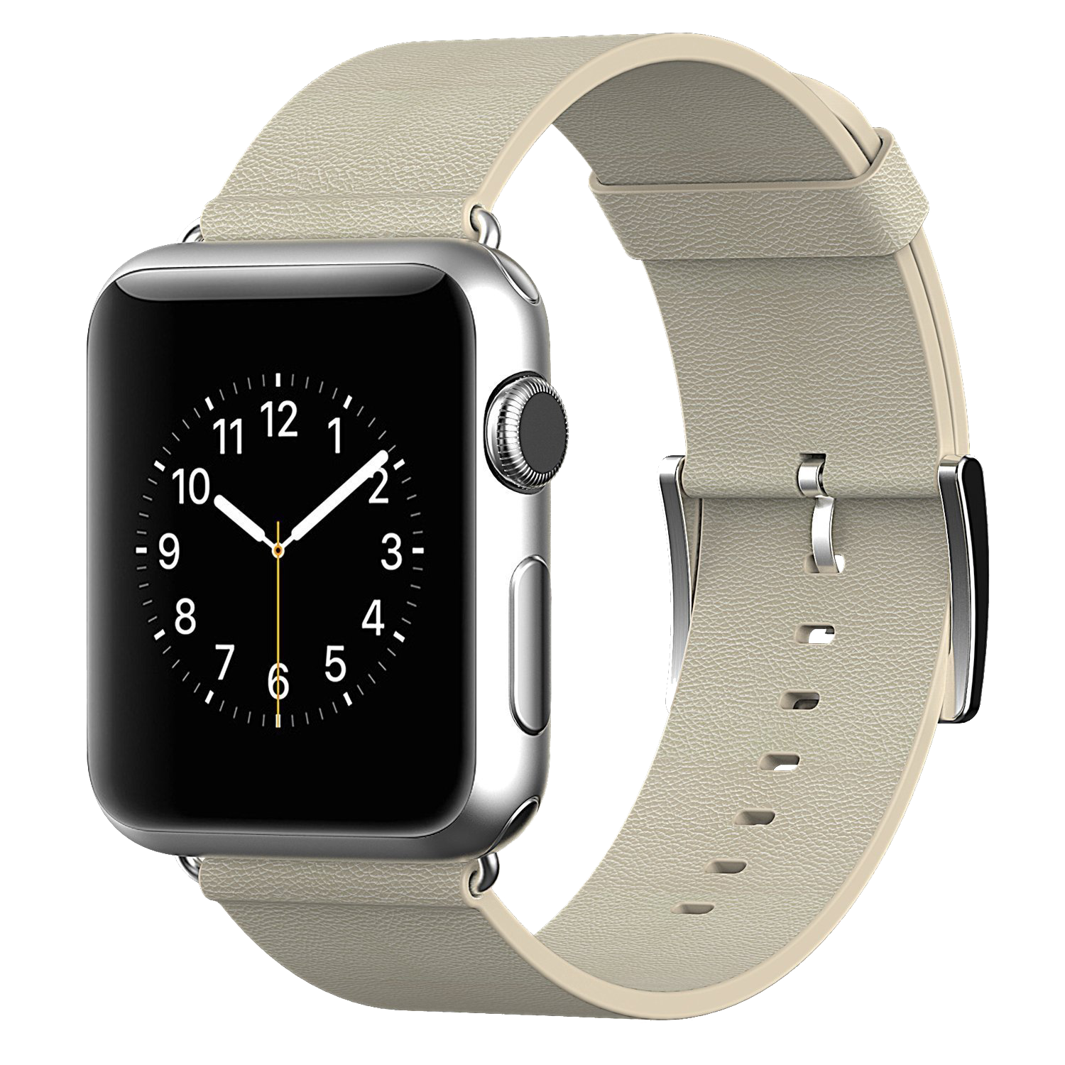 Apple Leather Series Watch Strap Iwatch PNG Image