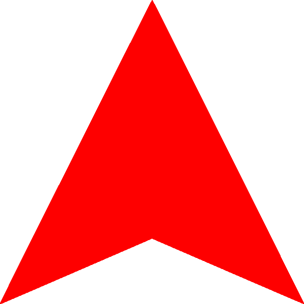 Up Arrow Transparent Background PNG Image