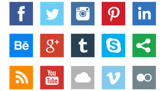 Social Icons Photos PNG Image