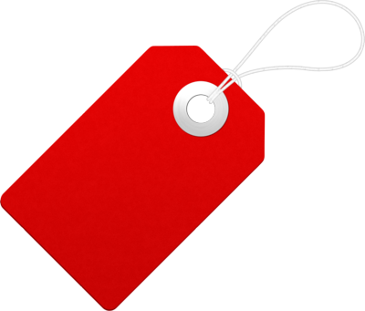 Blank Tag File PNG Image