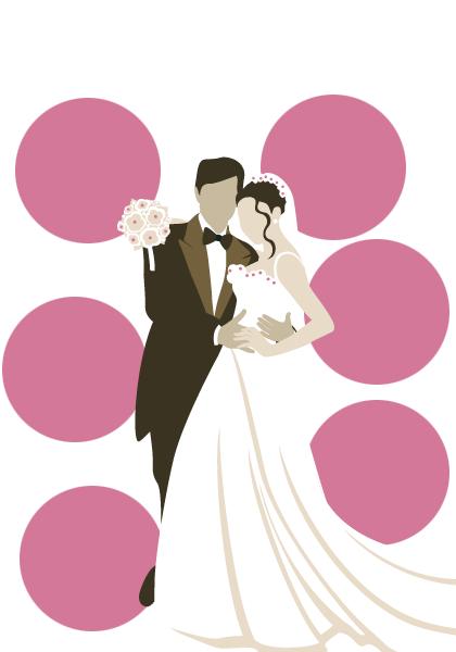 Wedding Couple File PNG Image