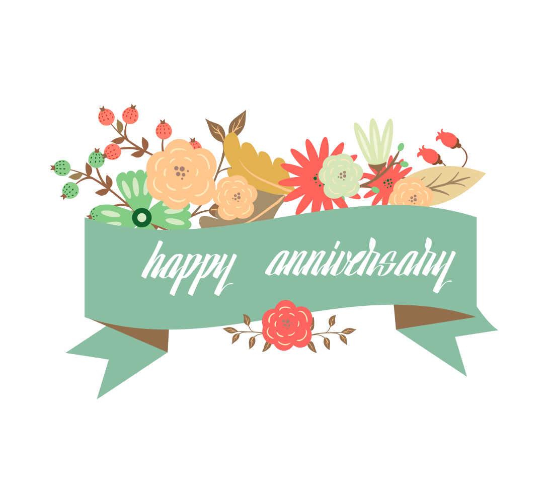Card Happy Anniversary Greeting Wedding Free Transparent Image HQ PNG Image