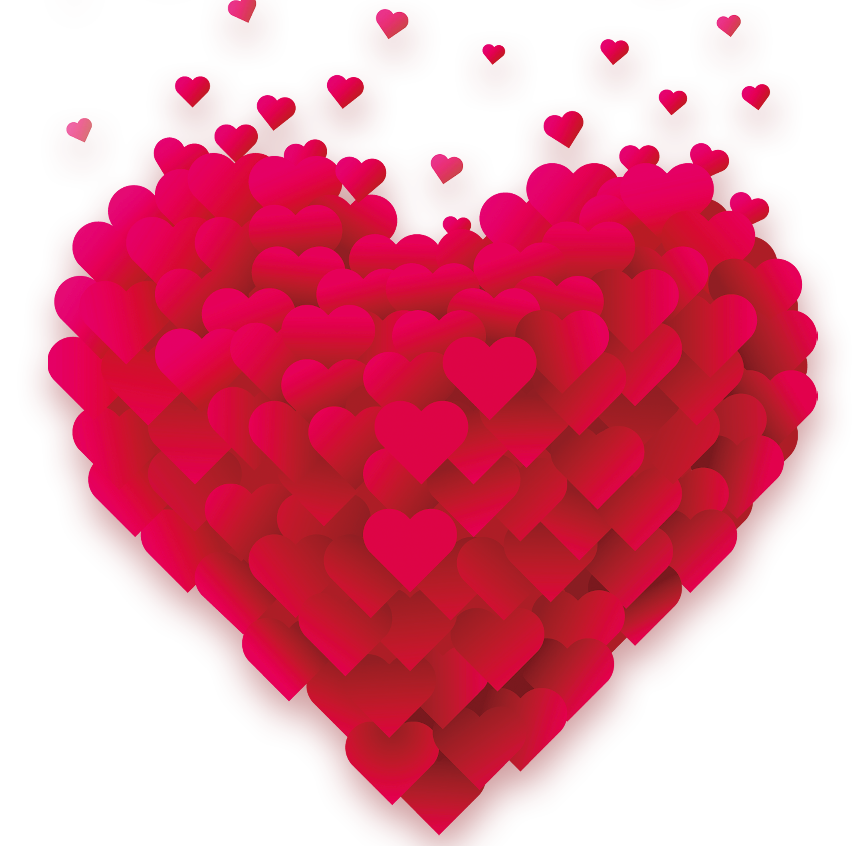 Heart Love Valentines Whatsapp Day Happiness PNG Image
