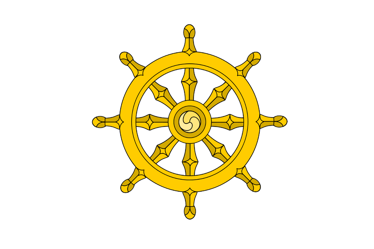 Wheel Of Dharma Transparent PNG Image