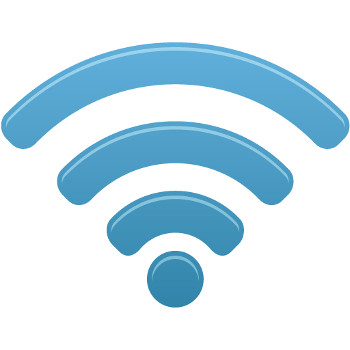 Blue Circle Wifi Download HQ PNG PNG Image