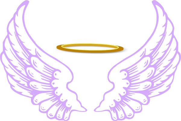 Angel Halo Wings Transparent Image PNG Image