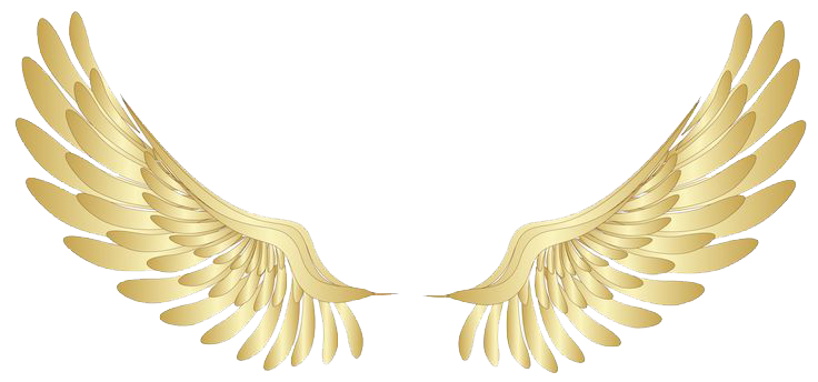 Angel Halo Wings File PNG Image
