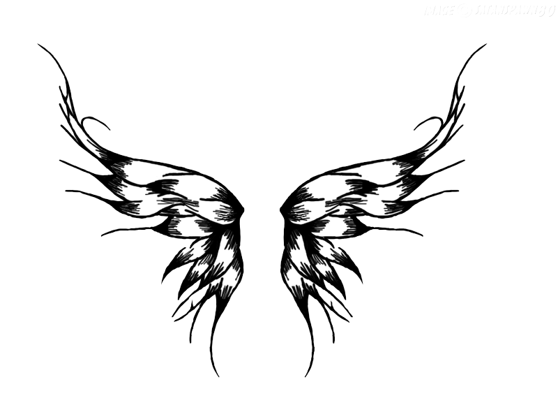 Wings Tattoos Png Picture PNG Image